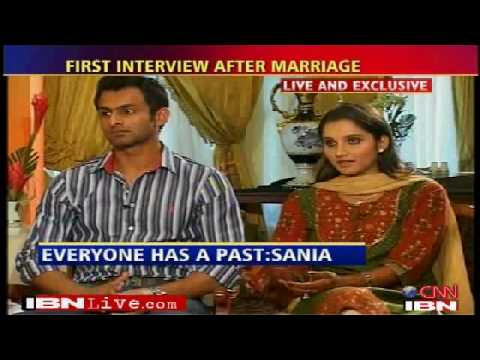 Sania Mirza Shoaib Malik Interview After Marriage Part 4 video