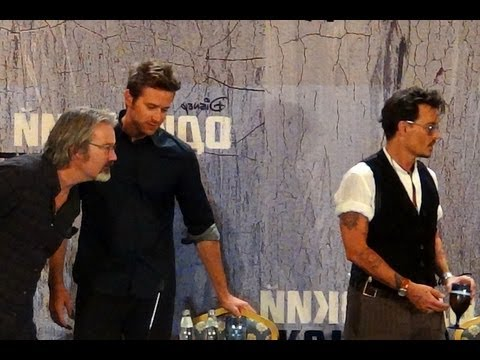 The Lone Ranger Press Conference: Johnny Depp, Armie Hammer, Gore Verbinski, Jerry Bruckheimer