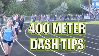 400 Meter Dash Tips - The 1/4 Mile Race
