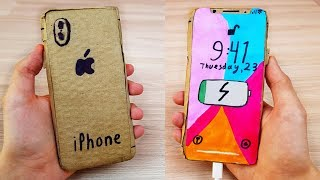 Working Cardboard Apple iPhone 11 - Stop Motion Video