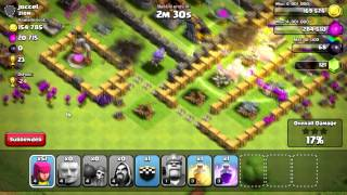 Clash of Clans - DROID4X EMULATOR TEST! BETTER THAN BLUESTACKS!!!