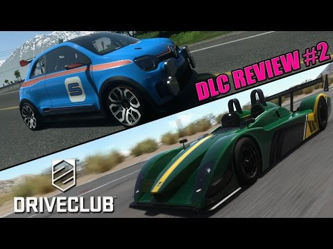 Driveclub - Ignition DLC Review - #2 Renault Twin Run & Caterham SP/300.R !!!