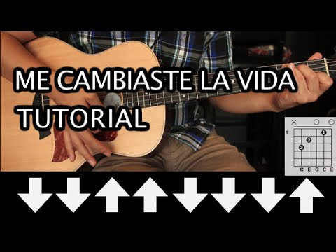 """Como tocar """"Me Cambiaste la Vida"""" de Rio Roma - Tutorial Guitarra ..."""