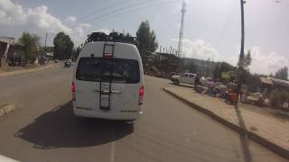Driving Through Gondar Ethiopia