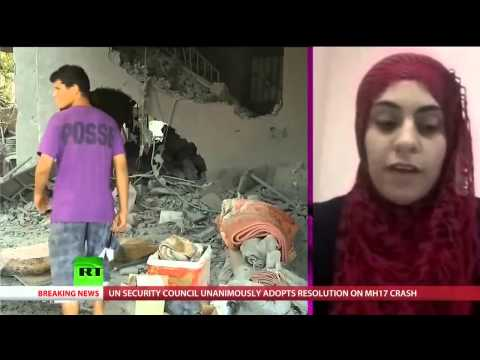 Gaza Resident: I'm Called a Human Shield for Refusing to Leave My Home