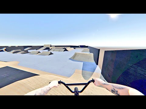 RIDING NEW MODDED MAP IN REAL LIFE? (Pipe by Bmx streets)