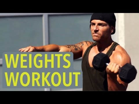 Easy Weight Lifting Routine - Being Fat Sucks Image 1