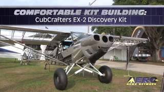 Aero-TV: Comfortable Kit Building - CubCrafters EX-2 Discovery Kit
