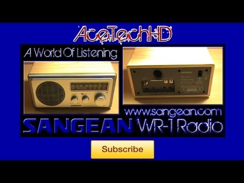 Sangean WR-1 Table-Top Radio Review (HQ)