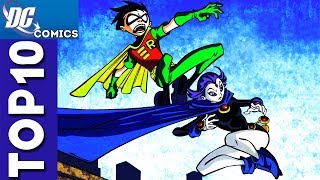 Top 10 Robin and Raven Moments From Teen Titans