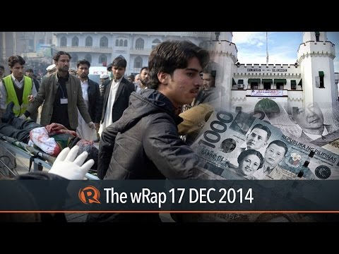 Pakistan Massacre, Bilibid Vips, Dirty Money   The Wrap video