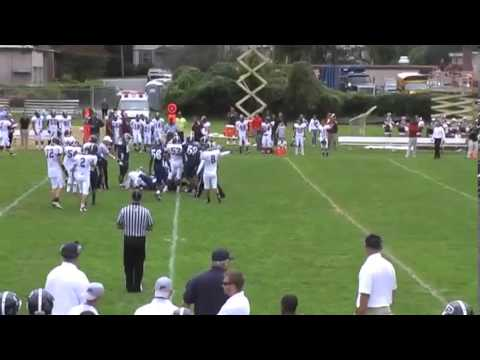 Robert Waldman football highlights 2011 Harrison High School