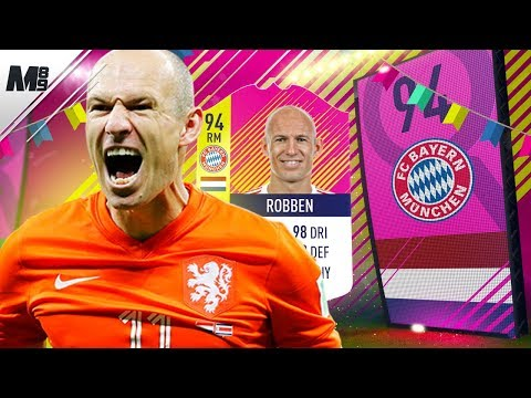 FIFA 18 HERO ROBBEN REVIEW | 94 CLASSIC HERO ROBBEN PLAYER REVIEW | FIFA 18 ULTIMATE TEAM
