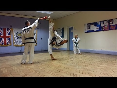 Soo Bahk Do / Tang Soo Do Kick Workout / Drills Image 1