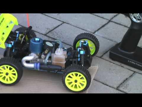 Jak Dotrzeć Silnik Nitro W Modelu Zdalnie Sterowanym ?  HSP Meteor Nitro Rc Buggy. Modele Rc