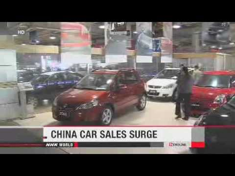 China's new car sales surged in September