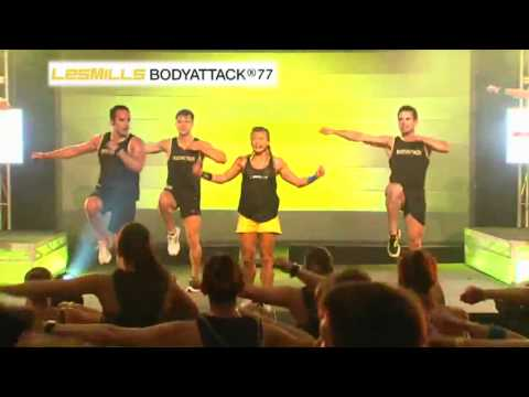 Les Mills Bodyattack® 77 (footage From Ultimate Super Workshop Sydney, 2012) video