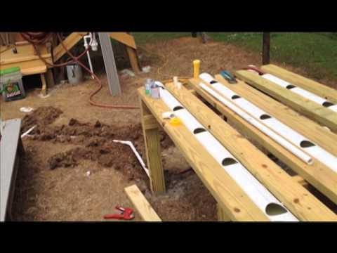 Hybrid Rain Gutter Grow System Step By Step Ep 4 Youtube