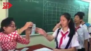 Cô giáo Sài Gòn mừng tuổi học trò kiểu 'thả tiền sang chảnh'