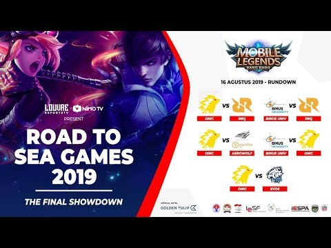 Road to SEAGAMES 2019 - The Final Show Down [MLBB] day 2