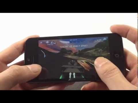 Goophone i5 N2 32G asphalt 6 3D game reviews