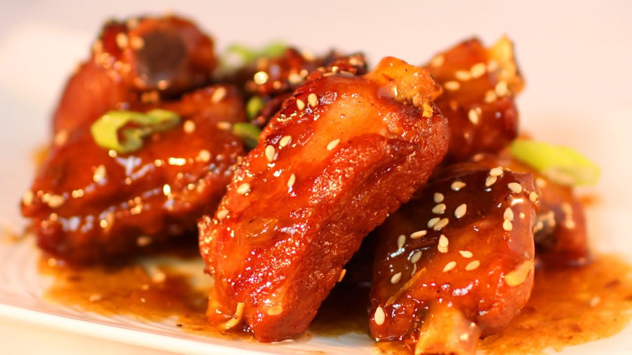Sweet and Sour Pork Ribs Recipe / 糖醋排骨 - YouTube