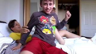 Play fighting w/ cousins EP 2