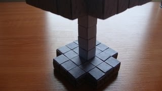 Origami Minecraft Blocks Tutorial