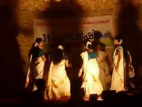 Parvanendu Mukhi - Thiruvathira By Dhanya Das & Team  2012 January video