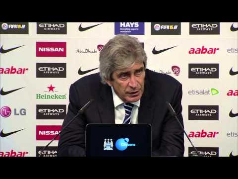 Manuel Pellegrini claims Chelsea 'just defended' in 1-1 draw at Man City