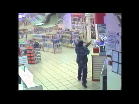 Armed Robbery at Adult Vid Store. Armed Robbery at Adult Vid Store