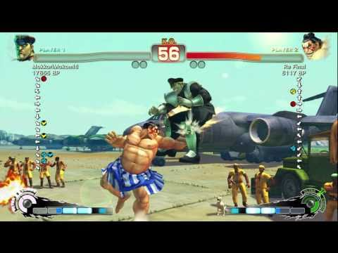 Ryukichikun [Fei] vs kao 1976 [Ryu] -- Re Final [Honda] vs MokkoriMokomiti [Bison] SSF4 Ranked