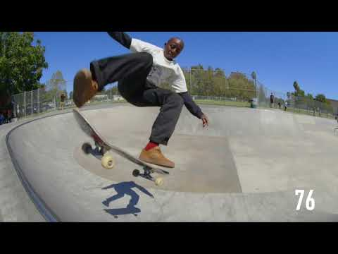 100 Kickflips In The Reynolds G6 with Kader Sylla