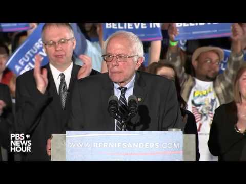 Sanders: 'This is the promise of America'