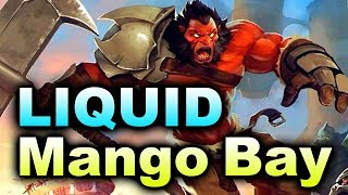 LIQUID vs MANGO BAY - Bone7 + Qupe Stack! - EU KL MAJOR DOTA 2