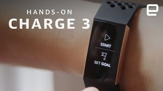 Fitbit Charge 3 Hands-On: Better controls come with a trade-off