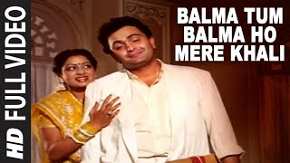 'Balma Tum Balma Ho Mere Khali' Full VIDEO Song - Nagina | Rishi Kapoor, Sridevi