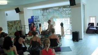 Craig Kohland (Shaman's dream) and Sita Devi at Mandala - center for total transformation