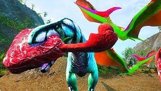 Megalossauro Ladrão de Carcaça! Pterossauro Traidor! Dinossauros: Beasts of Bermuda