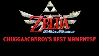 The Legend of Zelda Skyward Sword Chuggaaconroy's Best Moments (Over an hour and 30 mins!)