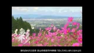 散りばめられた四季-富山県砺波市PR映像-「住んでみたいまち となみ」