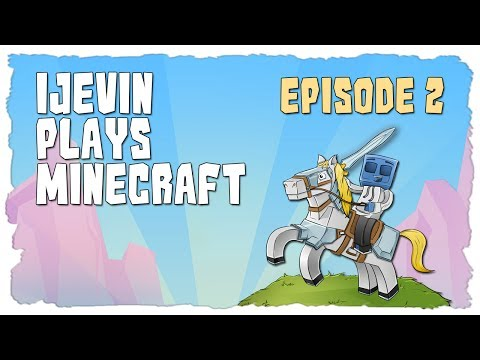 iJevin Plays Minecraft: CREATIVITY FLOWS! Ep. 2 (Minecraft SSP Survival)