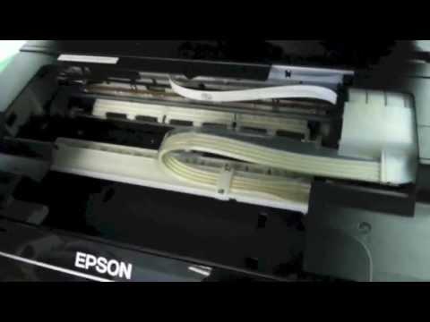 Marcas no Papel Sublimático - Como retirar as Roldanas na Epson L210 L355 L555 - SULINK