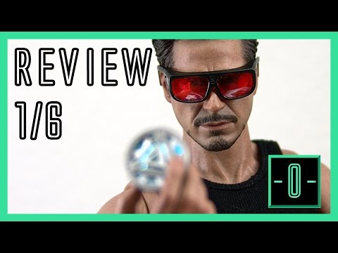 Hot Toys Tony Stark Arc reactor creation set review - 1/6 MMS273 - Iron Man 2