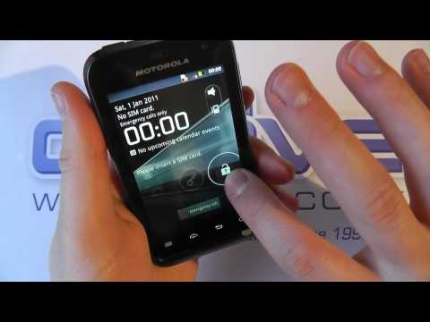 Motorola DEFY MINI XT320 Android Smartphone Unboxing