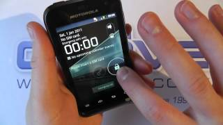 Motorola DEFY MINI XT320 Android Smartphone Unboxing