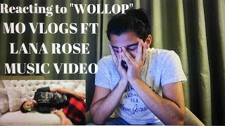 "Reacting to Mo Vlogs ft Lana Rose ""Wollop Wollop "" Music Video"