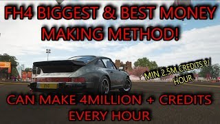 Forza Horizon 4 - BIGGEST & BEST Money Making Method - 3+ Mil Minimum Every 50 Minutes (Or Less)