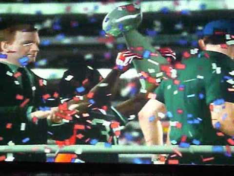 MADDEN NFL 11 BUFFALO BILLS SUPER BOWL CELEBRATION!! Video