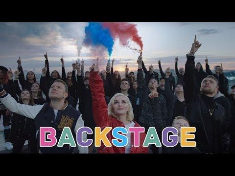 ЖИТЬ | Backstage | SMASH, Полина Гагарина & Егор Крид - Команда 2018